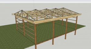 Pole Barn - Final Trusses