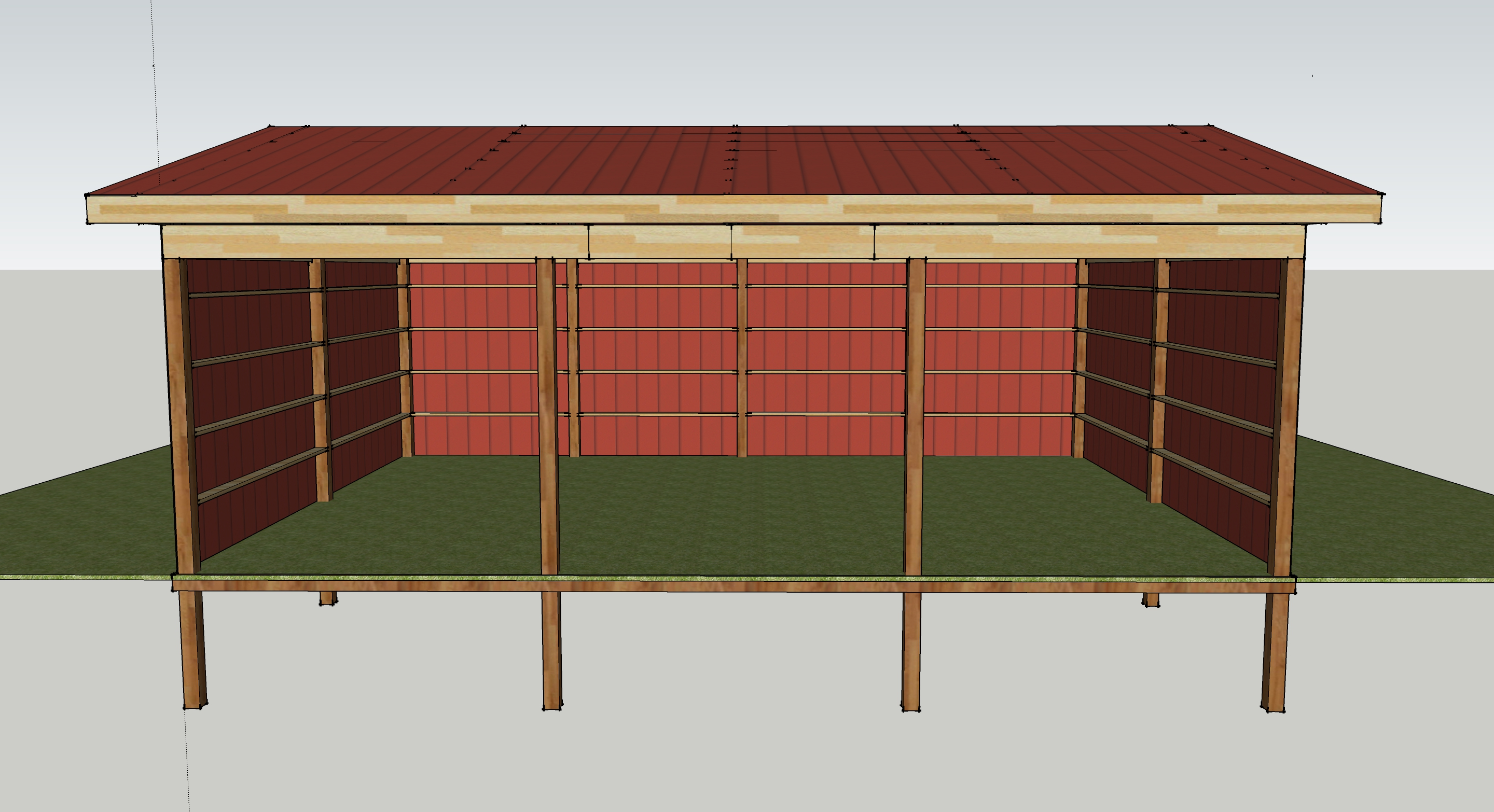 Pole barn plans 24 x 32 joy studio design gallery best for How to design a pole barn