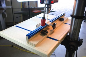 Drill Press Table Back
