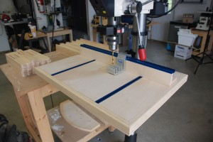 Drill Press Table Front