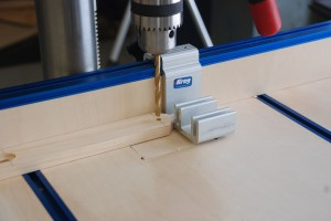 Drill Press Table Stop