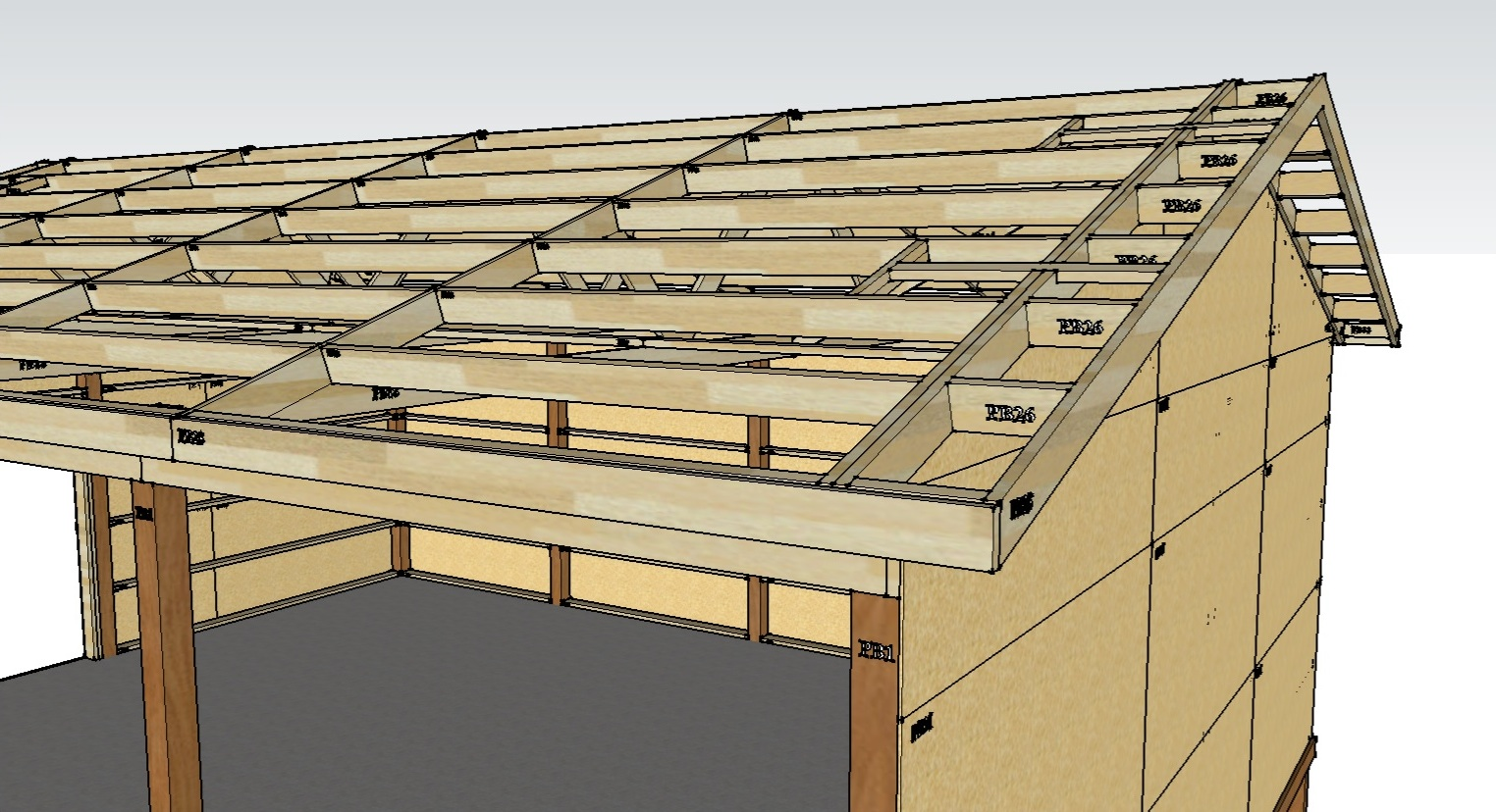 Pole Building Roofs & Two Story Pole Barn With Colonial ...